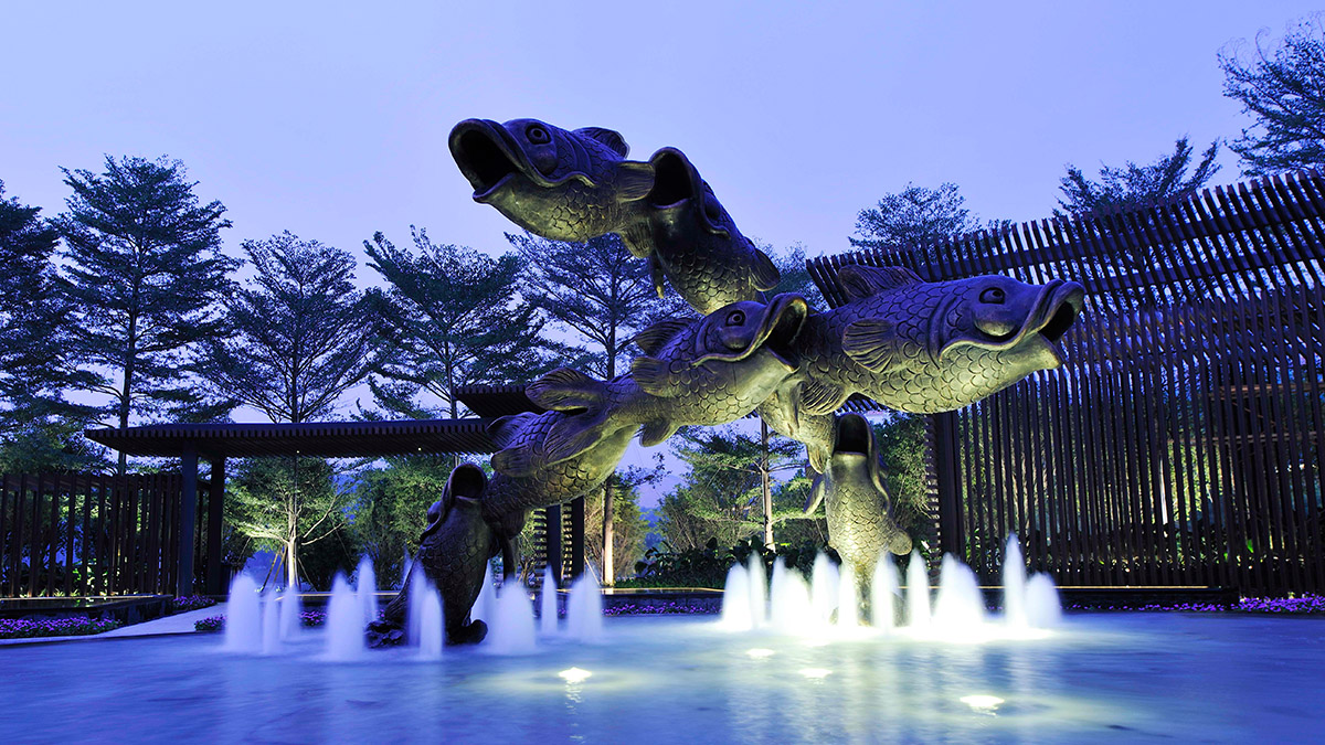Fish In The Garden Opens In Guangzhou